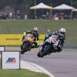 Third Supersport podium of the season for Jason Aguilar at Barber Motorsports Park