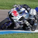 Another sixth in Supersport on Saturday, the Indianapolis highlight for Jason Aguilar